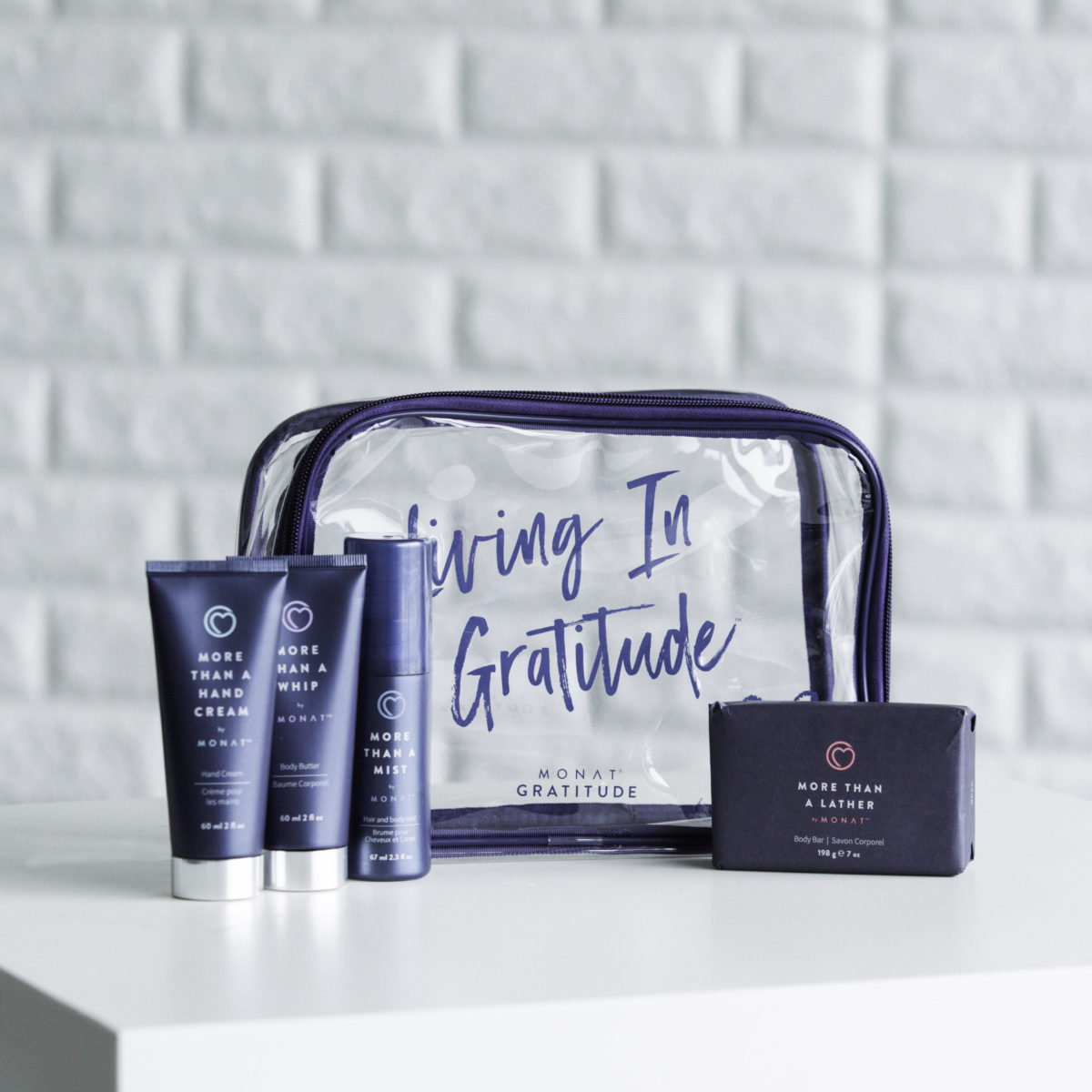 monat gratitude, living in gratitude, monat products