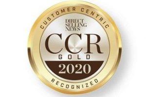 customer centrig award gold logo
